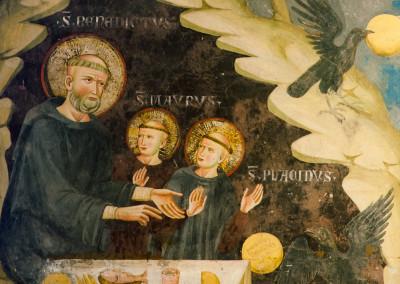Sacro Speco | Episodio della vita di San Benedetto